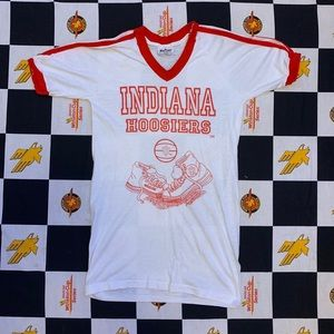 Vintage Indiana Hoosiers Tee Size Small 80s